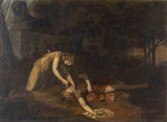 PELAGIO PALAGI (Bologna, 1775 - 1860) - Pyramus and Thisbe