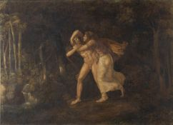 PELAGIO PALAGI (Bologna, 1775 - 1860) - Pyramus and Tisbe in love