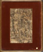 ANONYMOUS, 19th CENTURY - Partial copy after the stories of Moses on Sinai designed by Domenico Becc