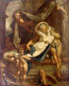BARTOLOMEUS SPRANGER (1546-1611), attribuéMars et VenusHuile sur toile rentoilée. M