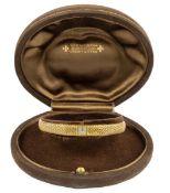 VACHERON CONSTANTINFine montre de dameEn or jaune 18k carats (750), boîtier rectangulaire, petit