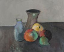 Peter Collis RHA (1929-2012) Still Life with Fruit Oil on canvas, 33 x 40cm (13 x 15¾'') Signed
