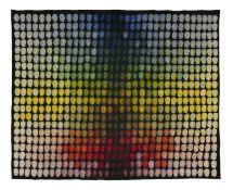 Louis le Brocquy HRHA (1916-2012) Mille Tetes B, No.1929 Aubusson tapestry, Tabard Frères et Soeurs,