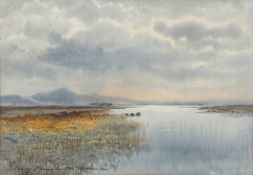 William Percy French (1854-1920) Connemara Watercolour, 23.5 x 34.5cm (9¼ x 13½'') Signed and