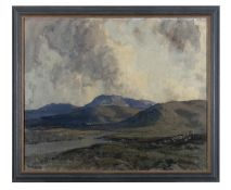 James Humbert Craig RHA RUA (1877-1944) The Hills of Donegal Oil on canvas, 51 x 61cm (20 x 24'')