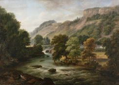 William Brocas (c.1794-1868) View at Innishannon, Co. Cork Oil on canvas, 71 x 99cm (28 x 39'')
