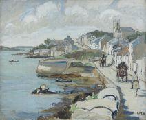 Letitia Marion Hamilton RHA (1878-1964) Roundstone Oil on Canvas, 50 x 60cm (19¾ x 23½'') Signed The