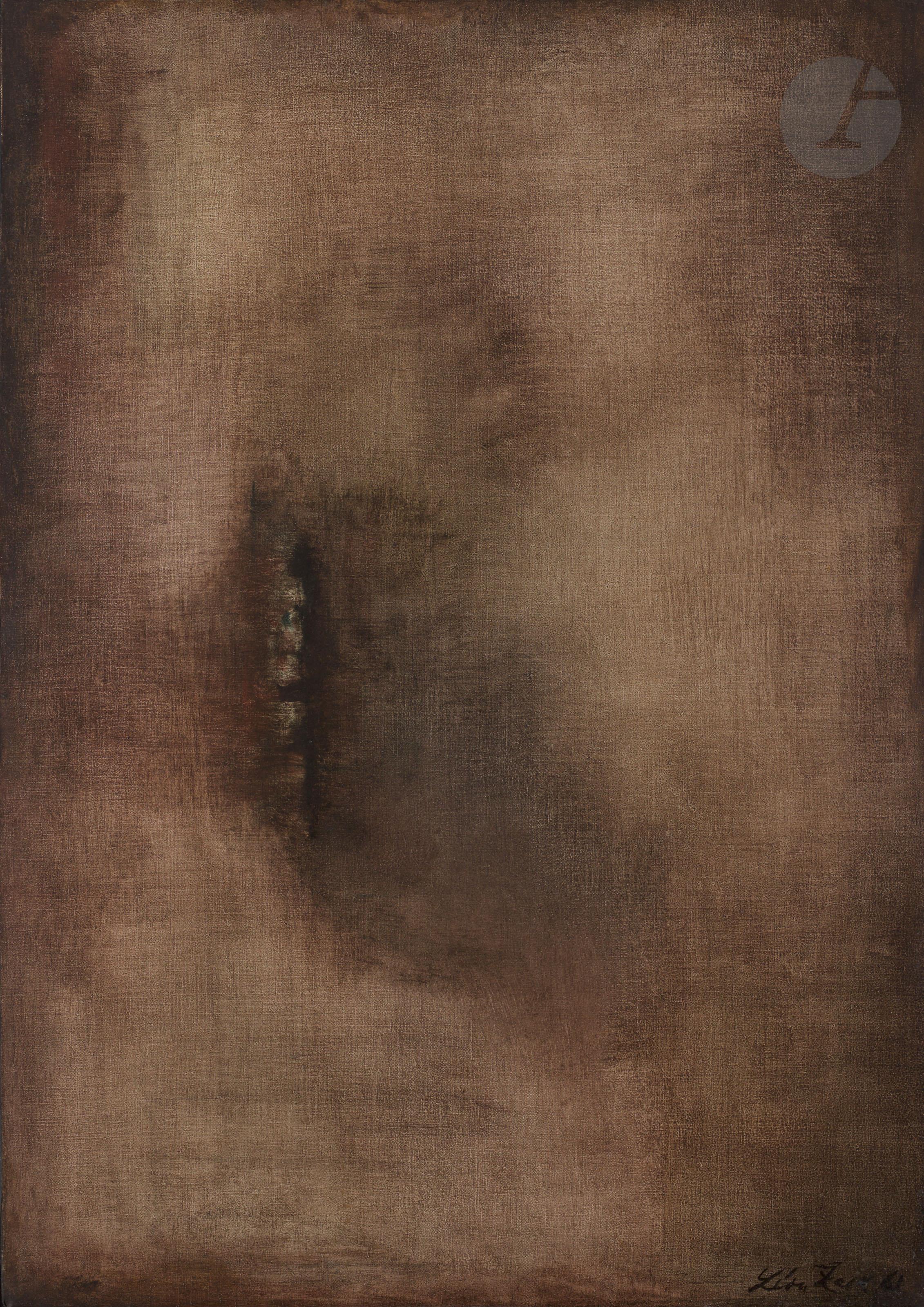 Lot 55 - Léon ZACK (1892-1980)Composition, 1961Huile sur toile.Signée et datée en bas à droite.Monogrammée et