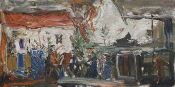 Alexandre Sergueïevitch PUTOV (1940-2008) Le Début du printemps, 1990 Huile sur toile. Signée et