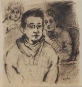 Temo (Teïmuraz) DJAPARIDZE (1927-2013 ?) Les gens du cirque et les gens ordinaires Ensemble de 5