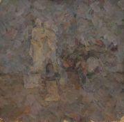 Boris Konstantinovitch KASSATKIN(né en 1944) [attribué à]Roses séchées et Tanagra, 1977Huile sur