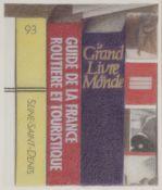 Anatoly Evguenievitch (Naftaly) RAKOUZIN (né en 1948) Bibliothèque Crayons de couleur. Non signé. 36
