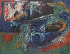 Alexandre Sergueïevitch PUTOV (1940-2008) Nu Huile sur toile. Signée en bas à droite. Signée, titrée