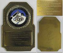 Olympic Winter Games 1936 Winner medal - Original winner medal from the Olympic Winter Games in
