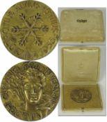 Olympic Winter Games 1956 Winner Gold Medal - Gold medal from the Olympic Winter Games in Cortina