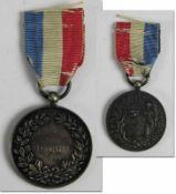 Oymic Games 1900 Winner medal Swimming - Original medal of honour which belonged to Johannes