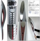 Olympic Games Sochi 2014 Official Torch - Original Olympic torch of the Olympic Games in Sochi 2014.