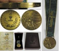Olympic Games 1966. Bronze Winnner medal Atlanta - Bronzemedal which belonged to German swimmer