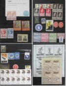 Olympic Games 1894 - 1984 Collection Vignettes - Approx. 500 advertising vignettes for the Olympic