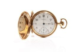 WALTHAM GOLD-PLATED POCKET WATCH
