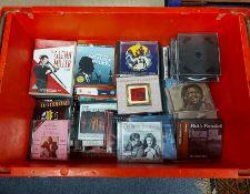 Various CDs & DVDs.