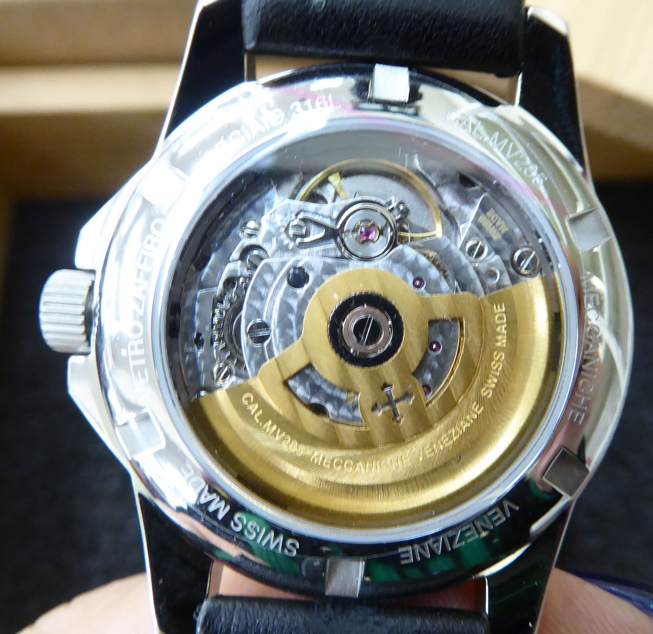 Lot 37 - A Meccaniche Veneziane stainless steel cased Redentore wristwatch,