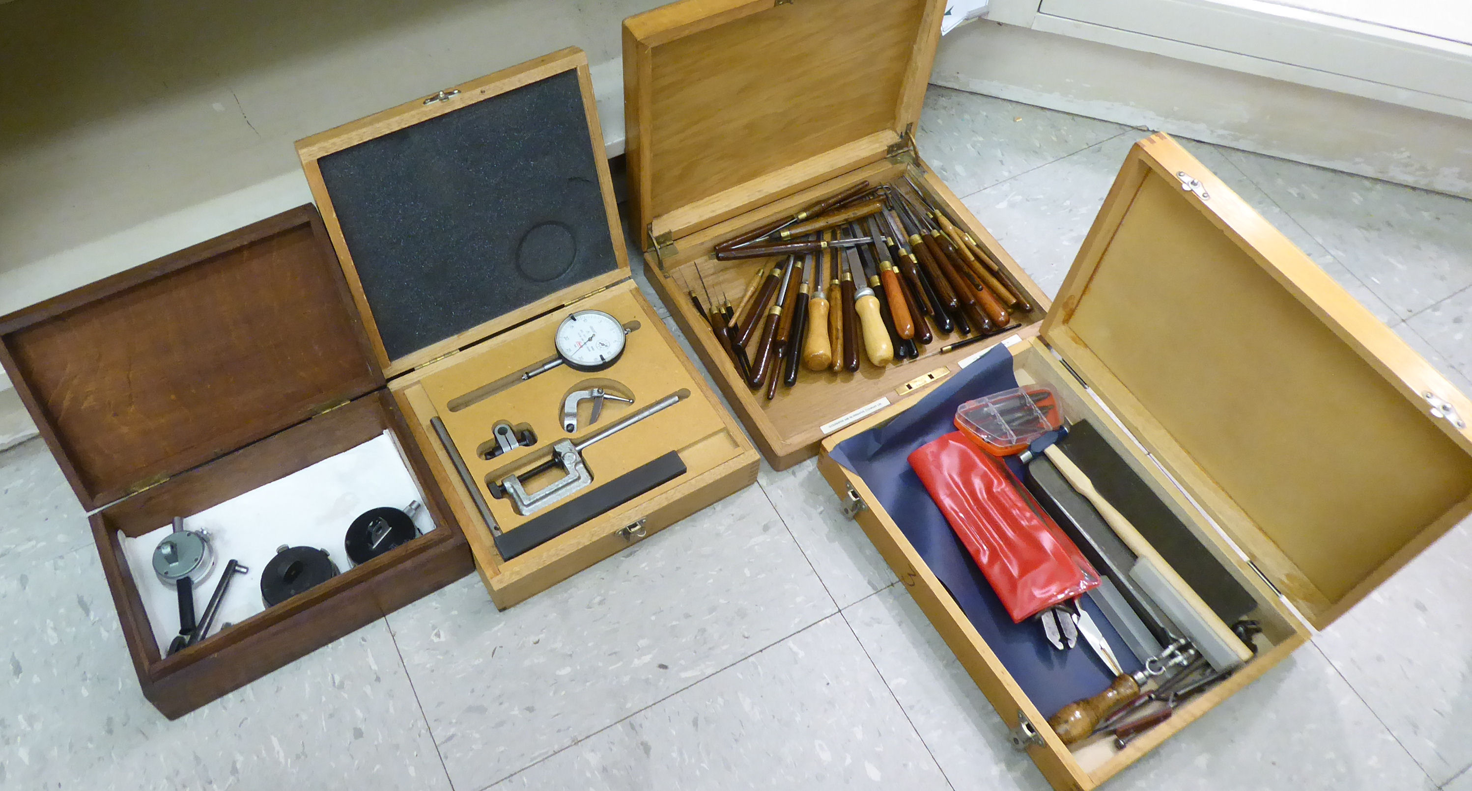 Lot 58 - Watch makers/repairers tools: to include files OS6