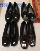Ladies shoes, viz. four pairs by Stuart Weitzman for Russell & Bromley, Bond Street, London approx.