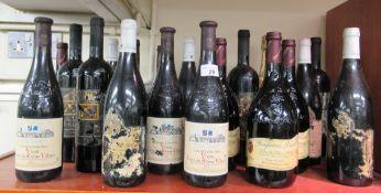 Wine: to include a bottle of 2001 La Grande Cave,