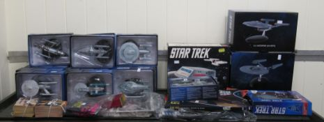 Star Trek related collectables: to include an AMT Galileo shuttlecraft (completeness not
