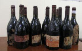 Wine: thirteen bottles of Chateau de la Gardine Benjamin Brunel mixed years RAM