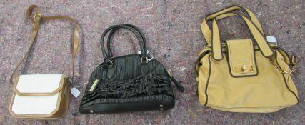 Three Escada handbags various designs SR