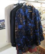 Eight ladies blazers and light jackets: to include examples by Daks of London,