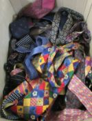 Gentlemens ties: to include examples by Fox & Chave, Salvatore Ferragamo, Pink of London,