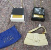 Three Stuart Weitzman handbags various designs OS2