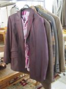 Six ladies blazers: to include examples by Daks of London and Feraud approx.