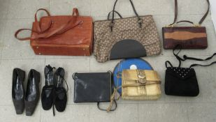 Ladies fashion accessories: to include leather and other handbags,