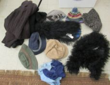Ladies fashion accessories: to include hats,