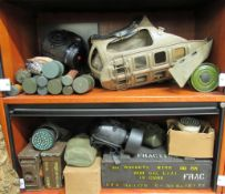 World War II German and other military related accessories and apparatus: to include ammunition