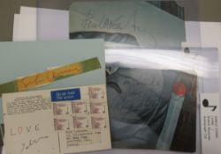 Beatles autographs, viz.