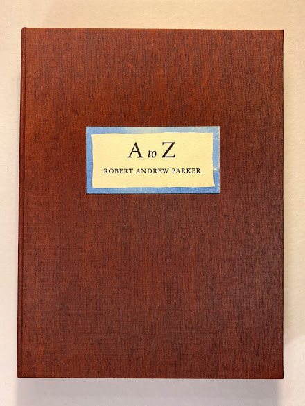 Lot 8 - [Abcdearium]. - Robert Andrew PARKER (b.1927) [A to Z hand-colored drawings by Robert Andrew Parker]
