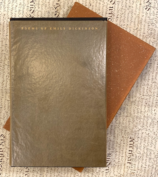 Lot 43 - Emily DICKINSON (1830-1886). Poems of Emily Dickinson selected and edited with a commentary by Louis