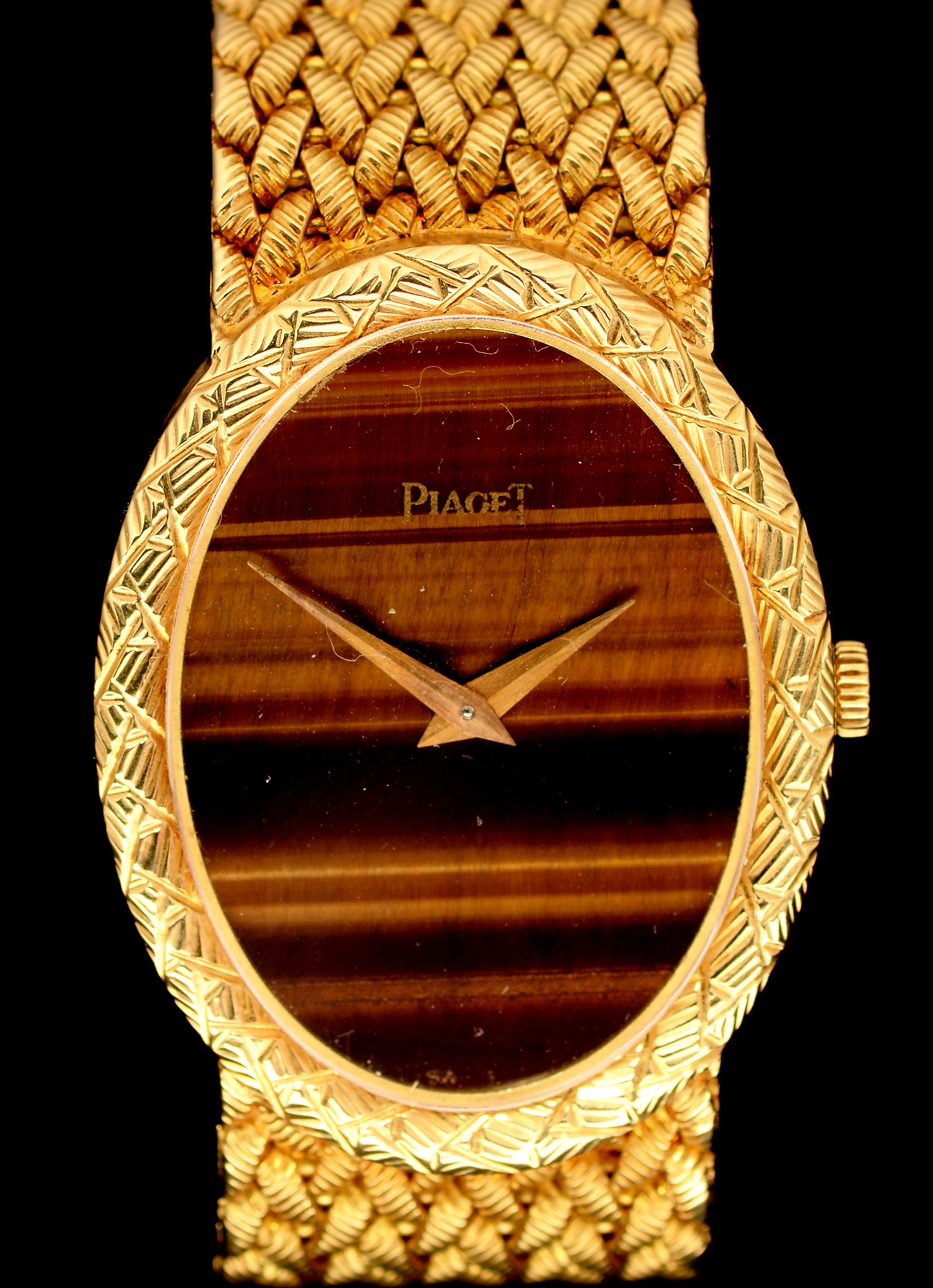 Lot 13 - Piaget 18ct gold watch