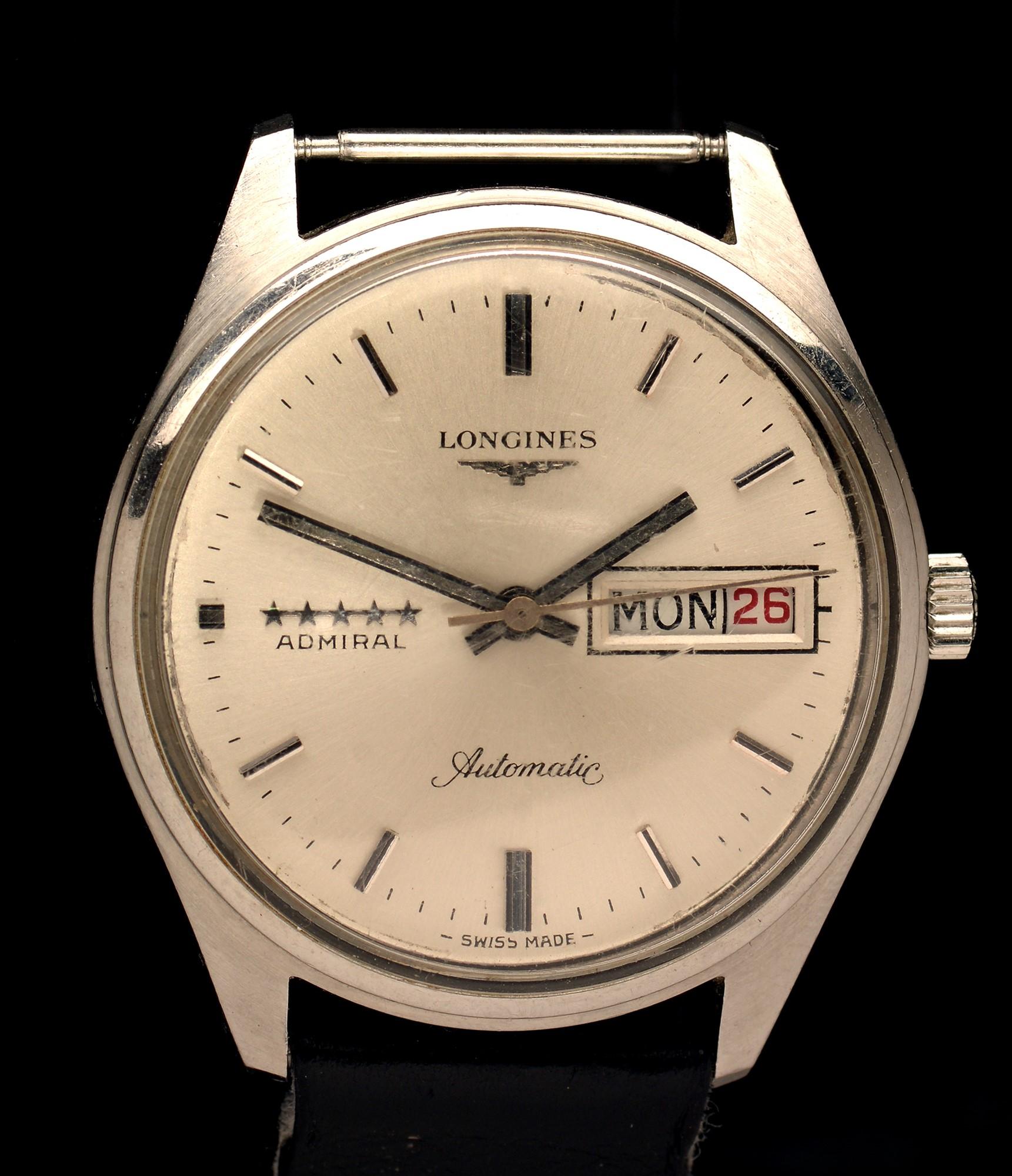 Lot 6 - Longines Admiral automatic wristwatch