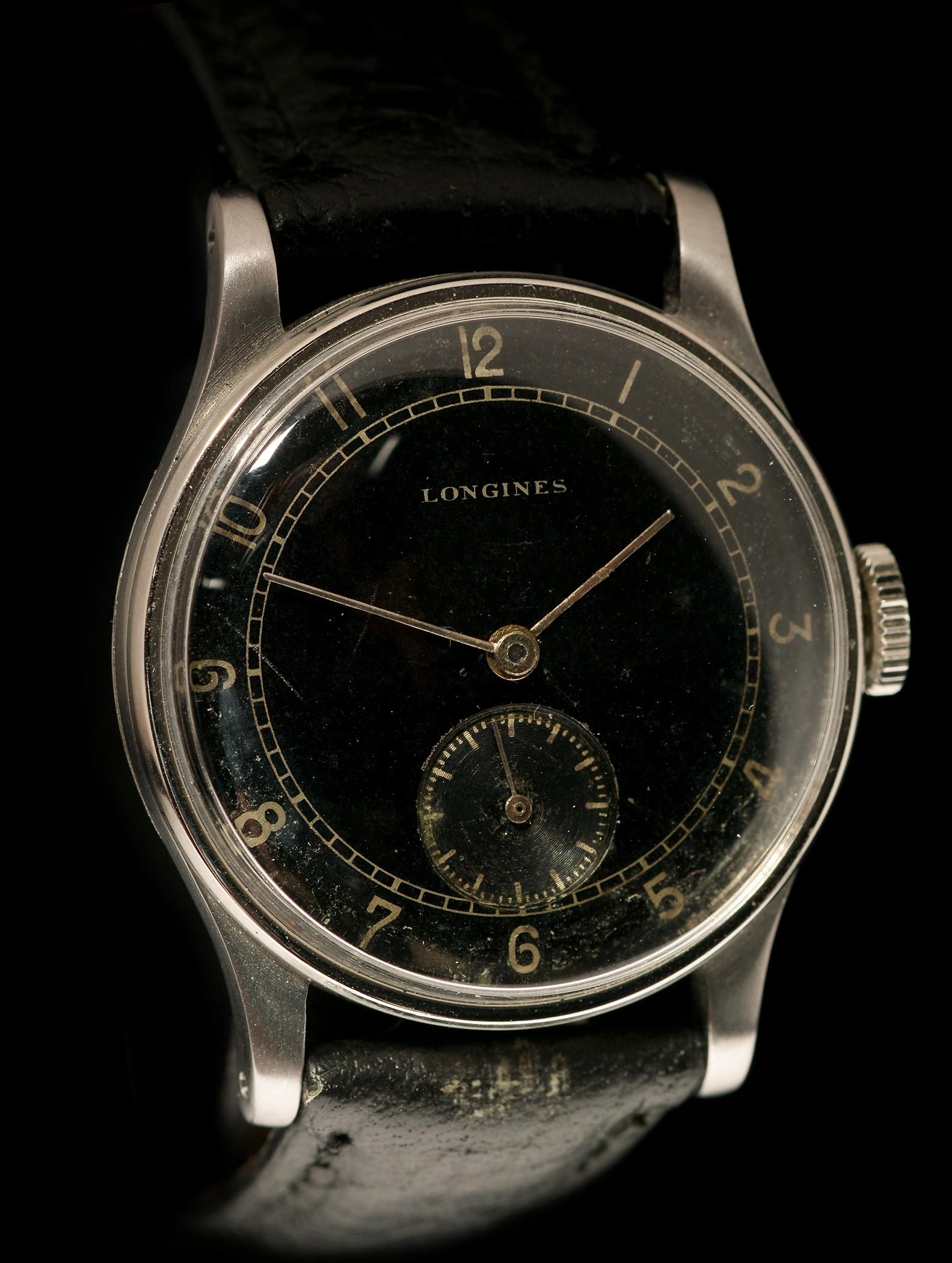 Lot 21 - Longines manual wind wristwatch