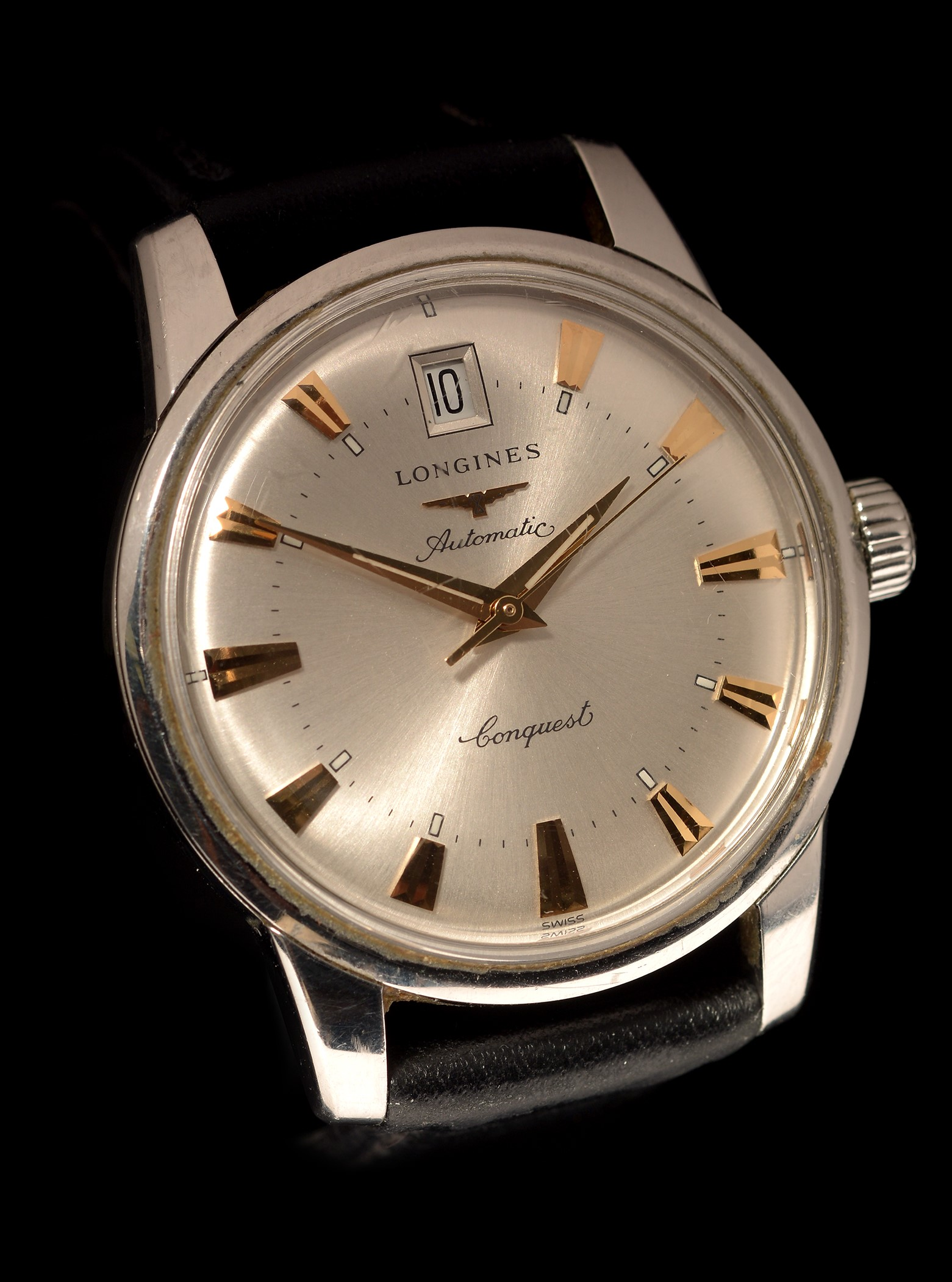 Lot 4 - Longines Conquest automatic watch