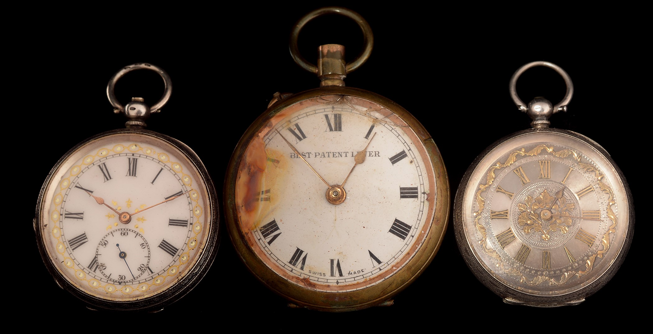 Lot 33 - three pocket watches