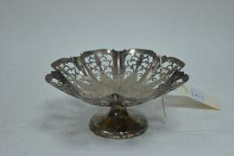 Edward Viners silver dish