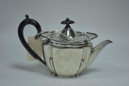 Silver bachelor's teapot