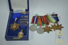 WWII GS and other medals